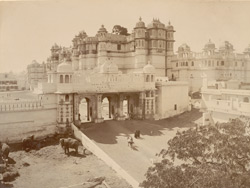 Palace with the Tripolia Gate, Udaipur